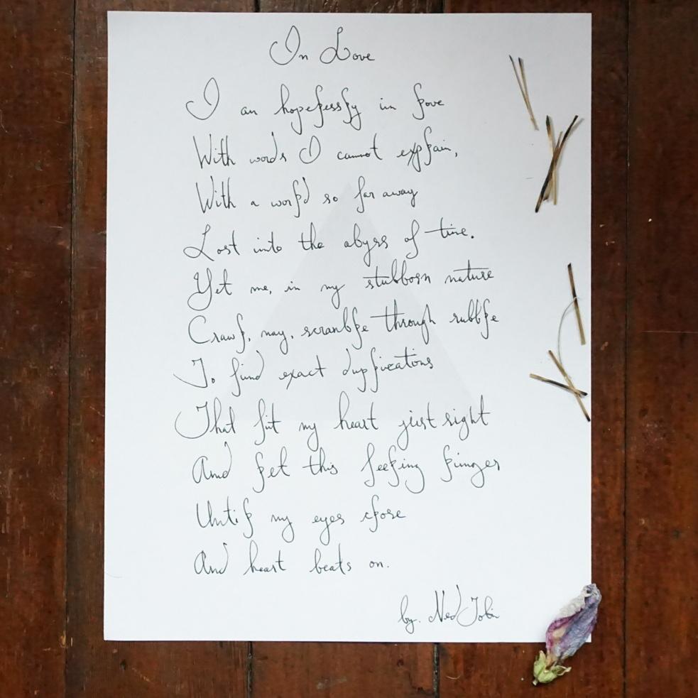 In Love by Ned Tobin