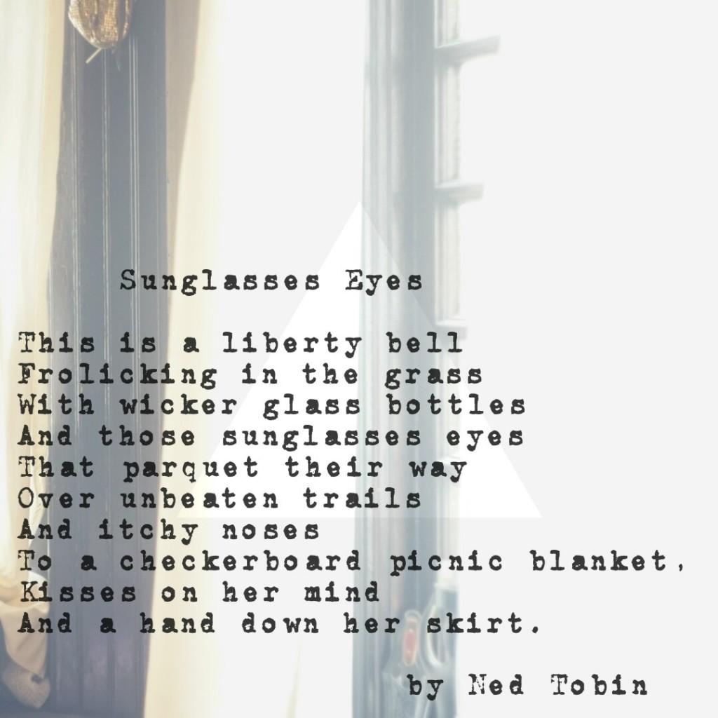 Sunglasses Eyes by Ned Tobin