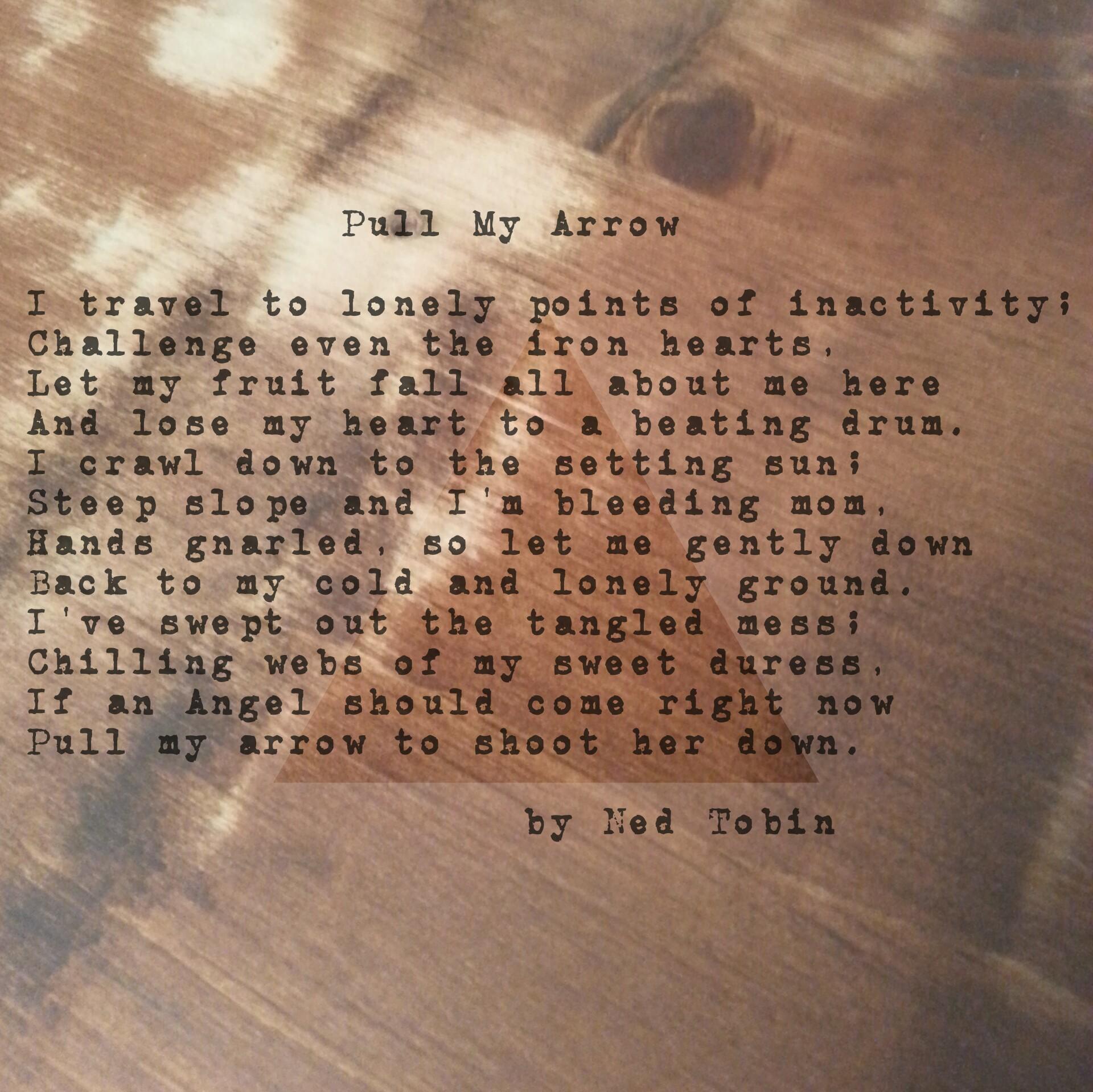 Pull My Arrow by Ned Tobin