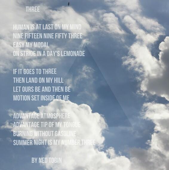 Three by Ned Tobin