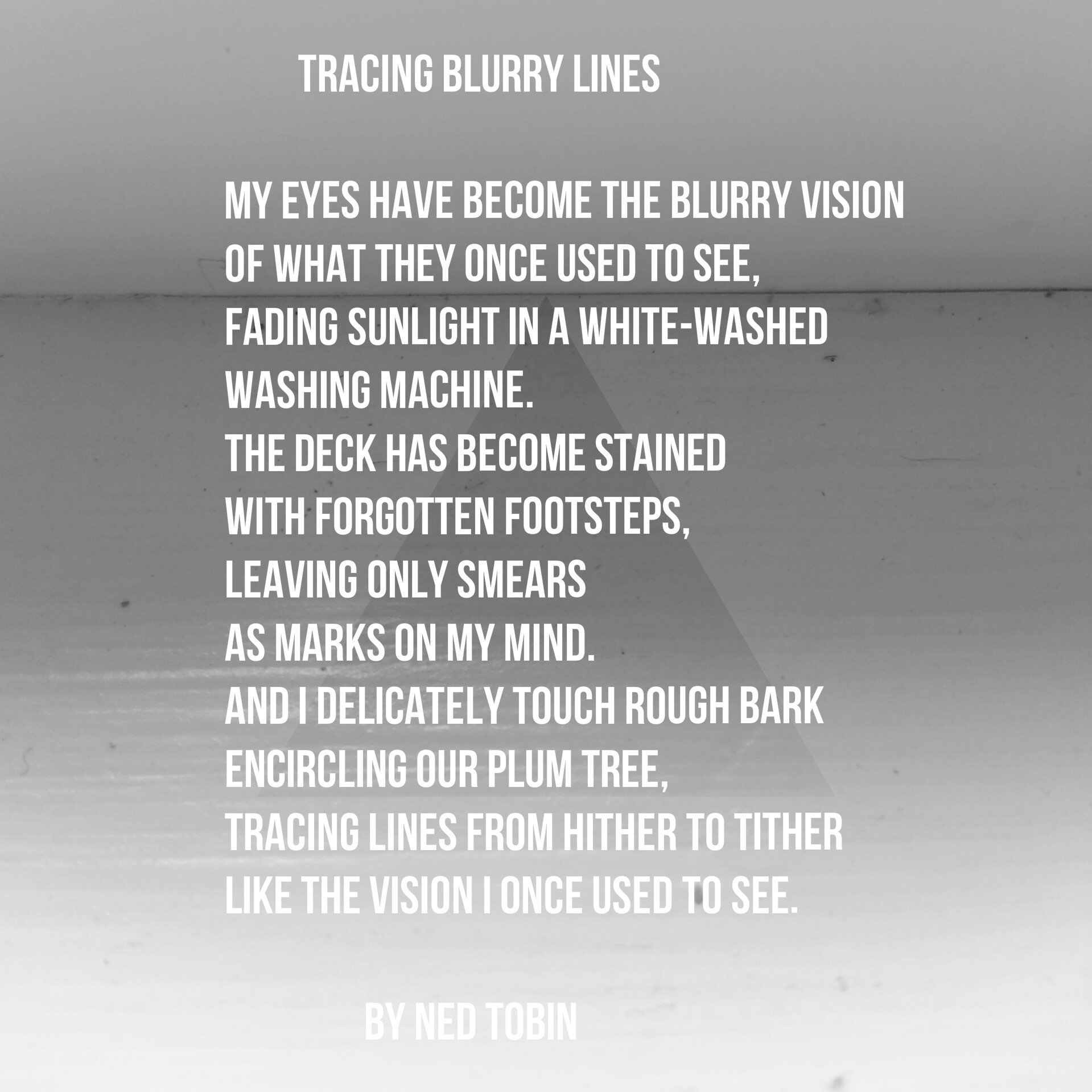 Tracing Blurry Lines by Ned Tobin