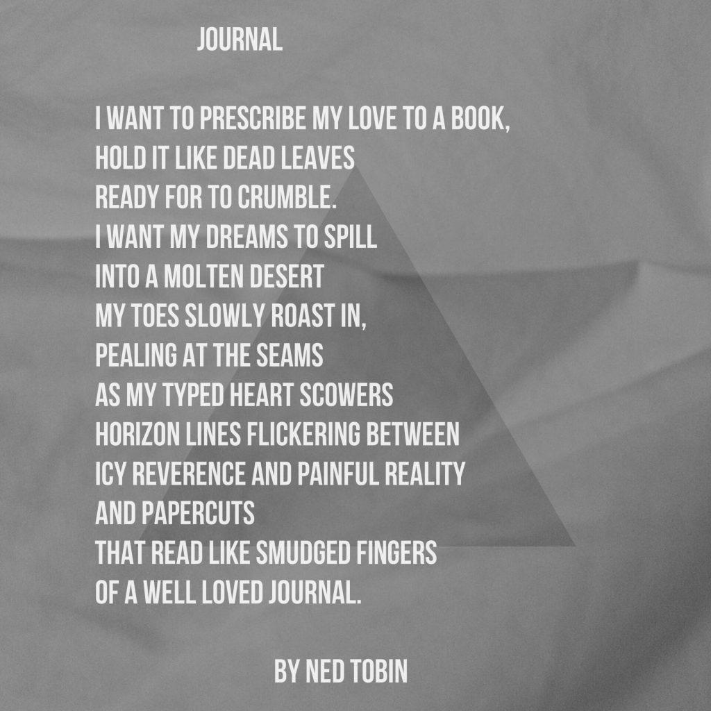 Journal by Ned Tobin