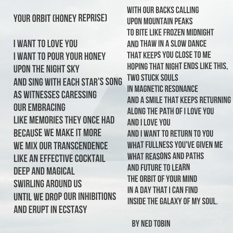 Your Orbit (Honey Reprise) by Ned Tobin
